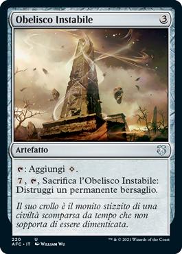 Obelisco Instabile