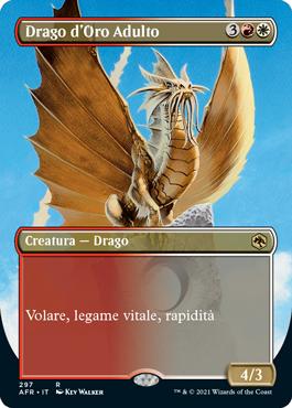 Drago d'Oro Adulto