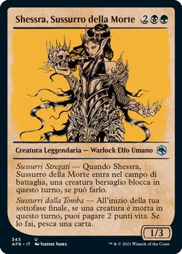Shessra, Sussurro della Morte