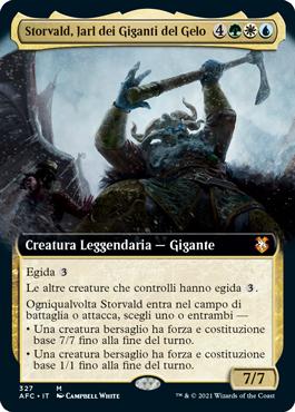 Storvald, Jarl dei Giganti del Gelo