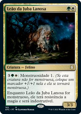 Leão da Juba Lanosa