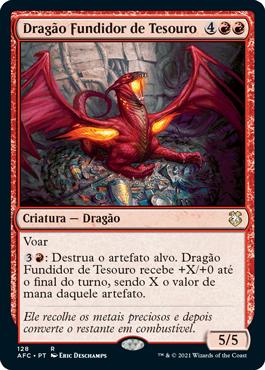 Dragão Fundidor de Tesouro