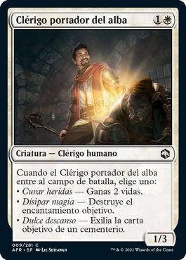 Clérigo portador del alba
