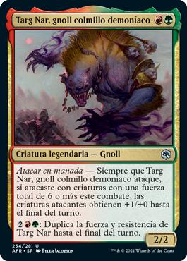 Targ Nar, gnoll colmillo demoníaco