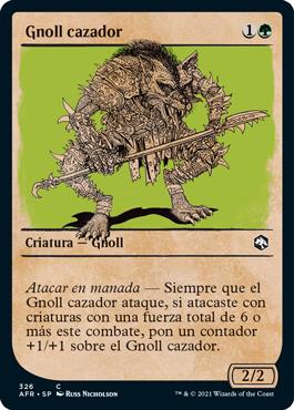 Gnoll cazador