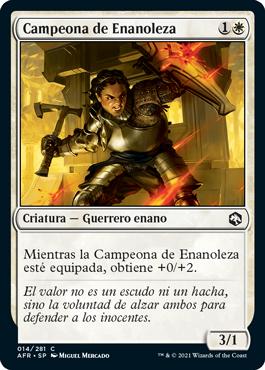 Campeona de Enanoleza
