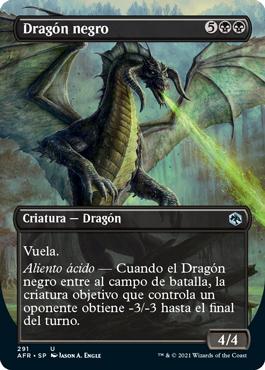 Dragón negro