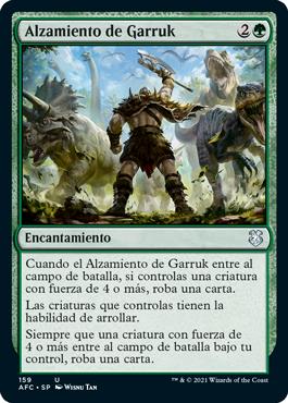 Alzamiento de Garruk