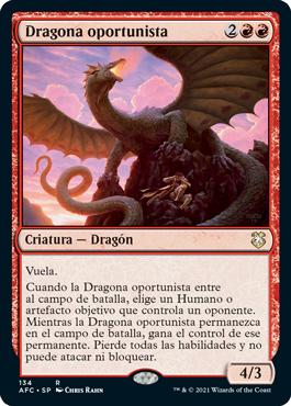 Dragona oportunista