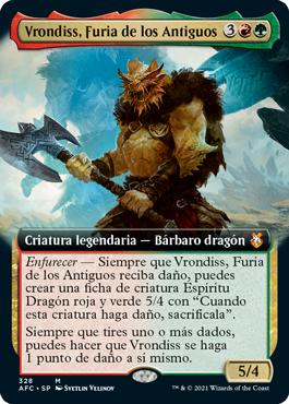 Vrondiss, Furia de los Antiguos