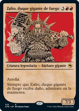 Zalto, duque gigante de fuego