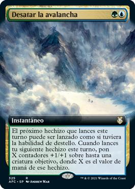 Desatar la avalancha