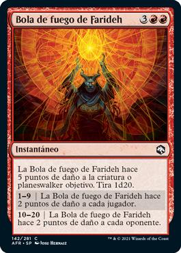Bola de fuego de Farideh