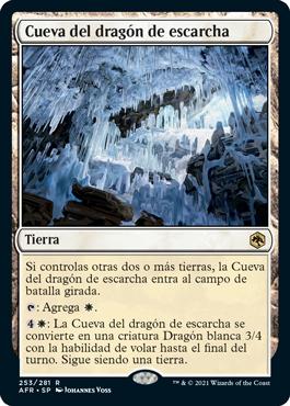 Cueva del dragón de escarcha