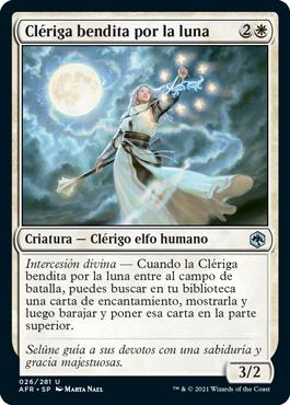 Clériga bendita por la luna