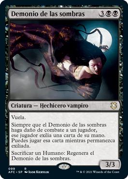 Demonio de las sombras