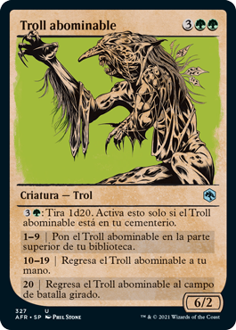 Troll abominable