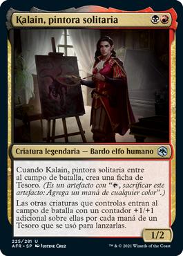 Kalain, pintora solitaria