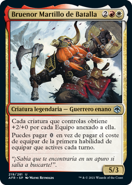 Bruenor Martillo de Batalla