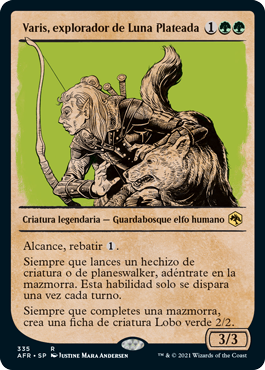 Varis, explorador de Luna Plateada