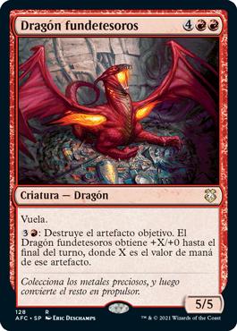 Dragón fundetesoros