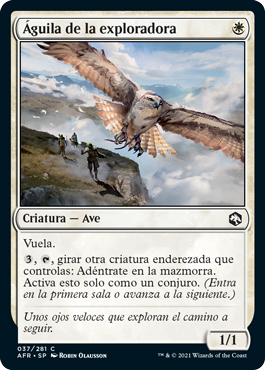 Águila de la exploradora