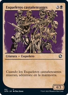 Esqueletos castañeteantes