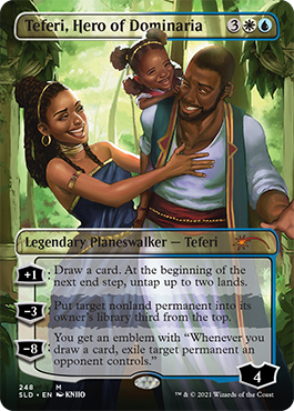 BHM Teferi, Hero of Dominaria