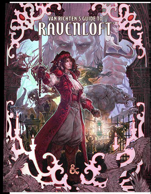 D&D 5e - Van Richten's Guide to Ravenloft esplora i Domini del Terrore