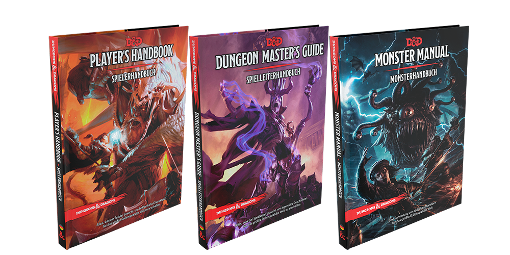 Dungeons & Dragons Core Rulebooks