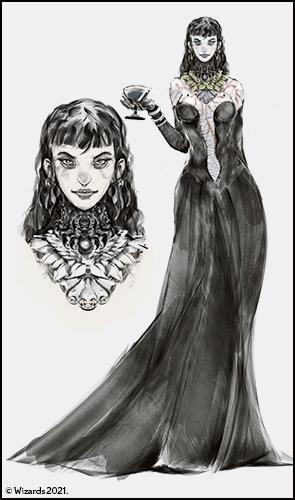 Ivana Boritsi, Darklord of Borca