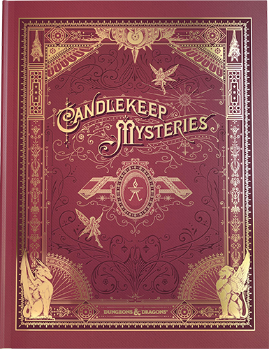 Candlekeep Mysteries: Alternate Cover: Dungeons and Dragons -  Wizards of the Coast