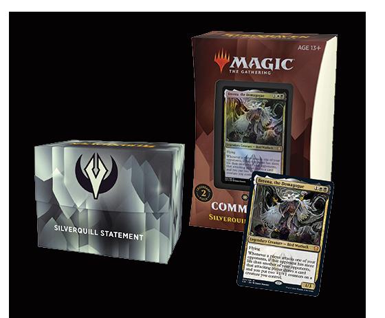 Commander decks – retail packaging