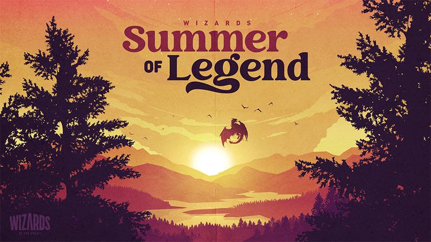 Summer of Legend logo/calendar