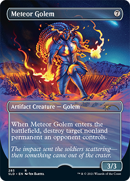 Borderless Meteor Golem