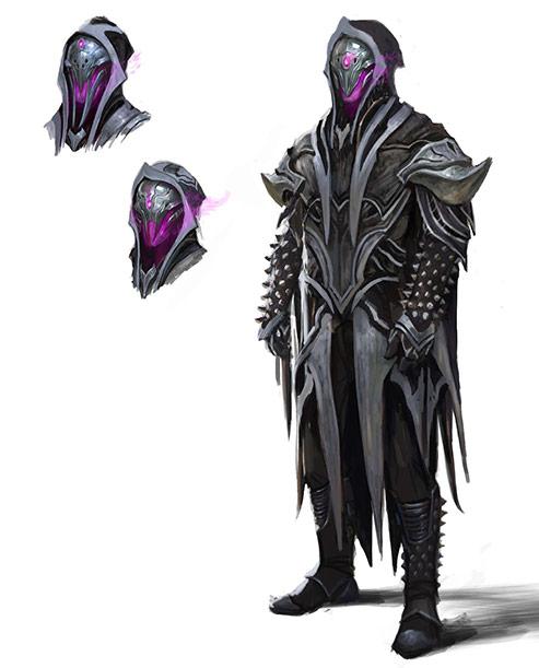 A masked Oriq