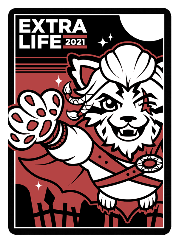 Extra Life 2021 Arena card sleeve image