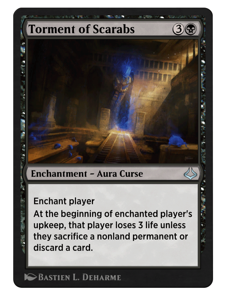 Torment of scarabs