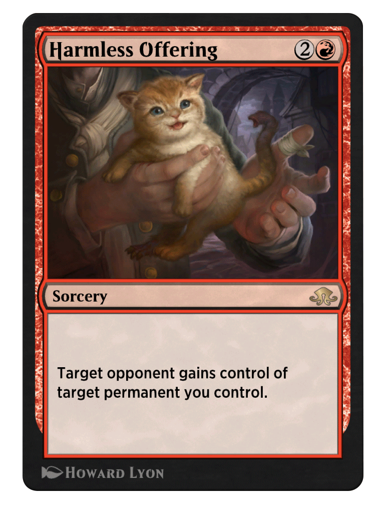 Harmless offering