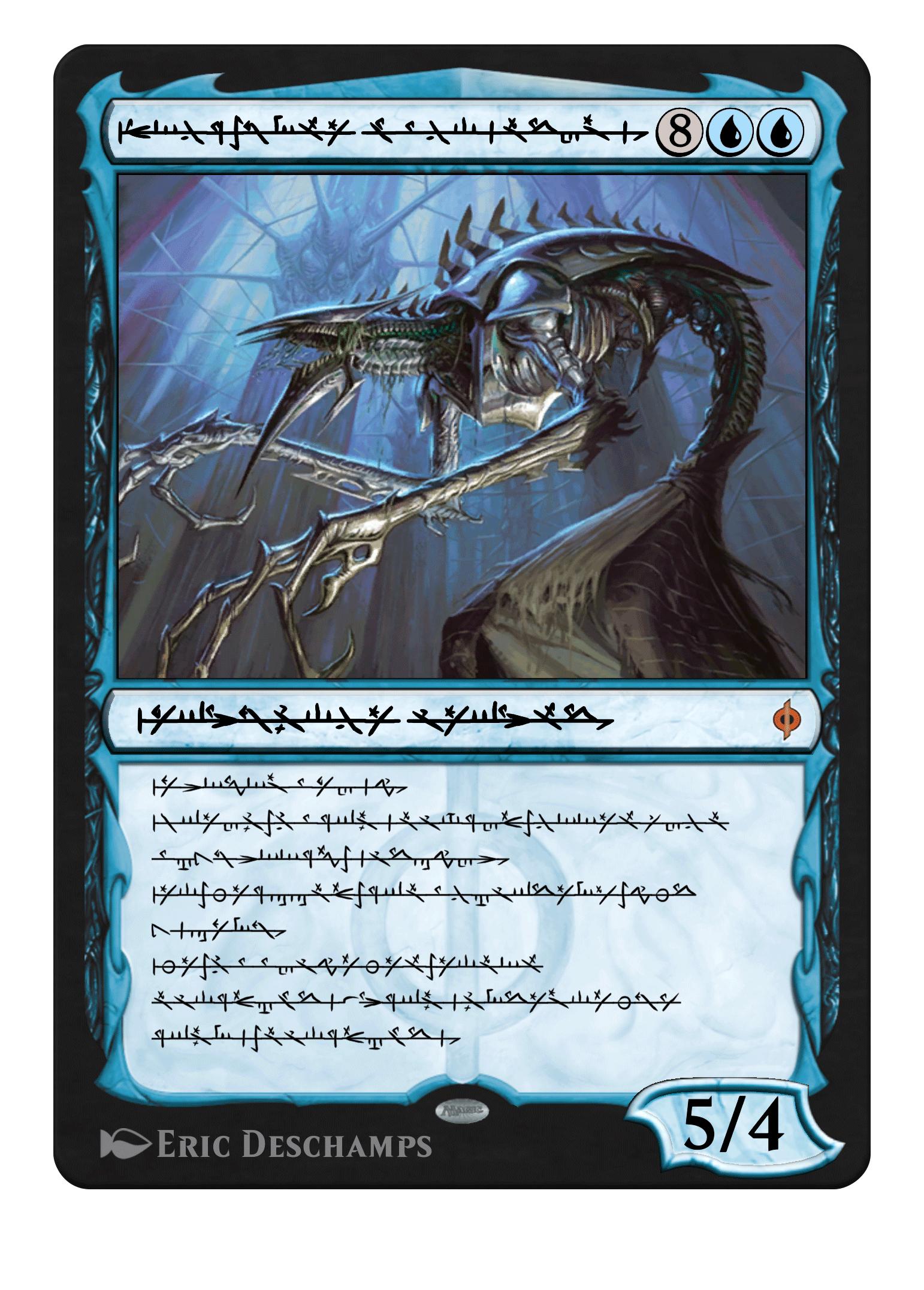 Phyrexian Jin-Gitaxias Core Augur