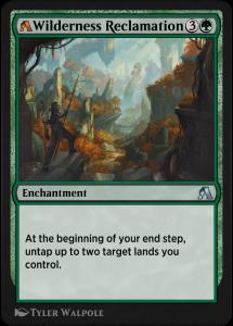 MTG Arena rebalanced card of Wilderness Reclamation
