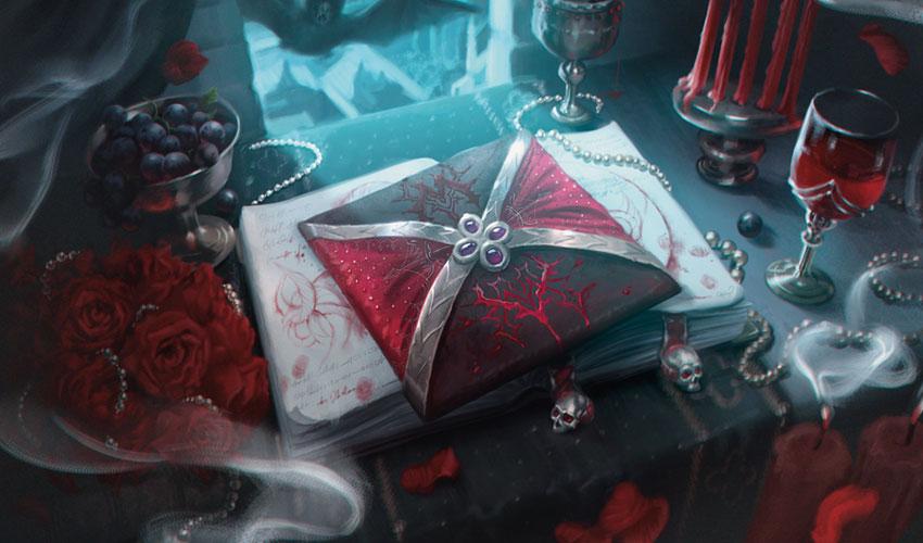 VOW invitation/letter artwork