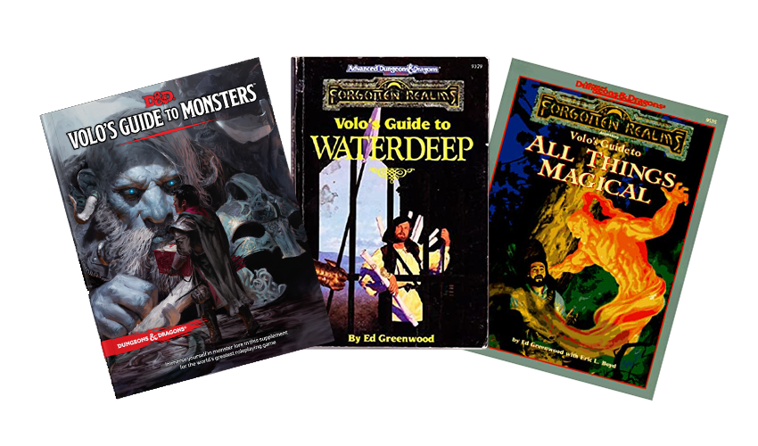 D&D Volo Covers