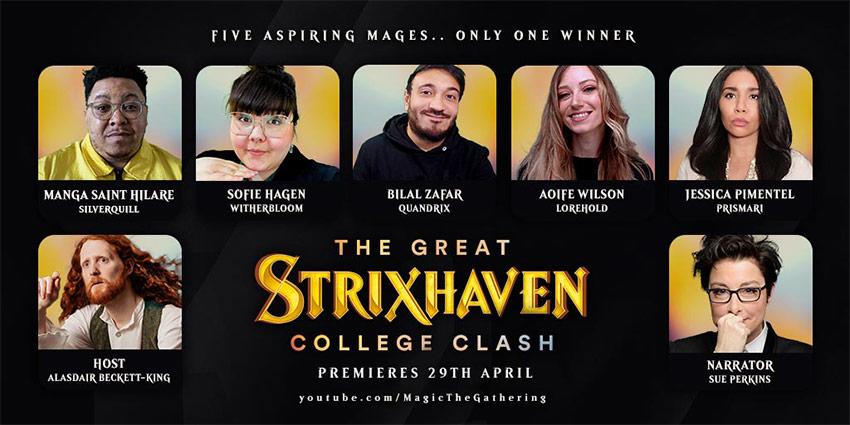 STX College Clash cast photo