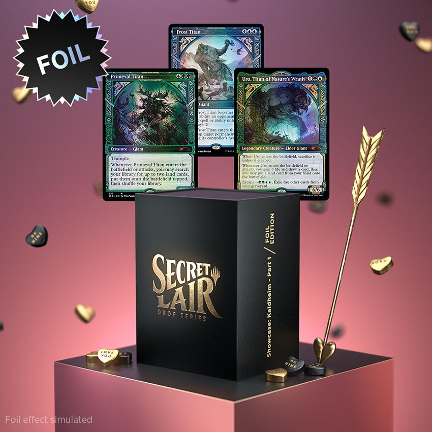 Showcase KHM Pt 1 Box w/ Cards