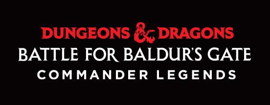 Commander Legends: Battle for Baldur's Gate logo