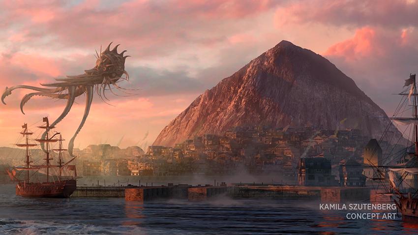 Commander Legends: Battle for Baldur's Gate Concept Art