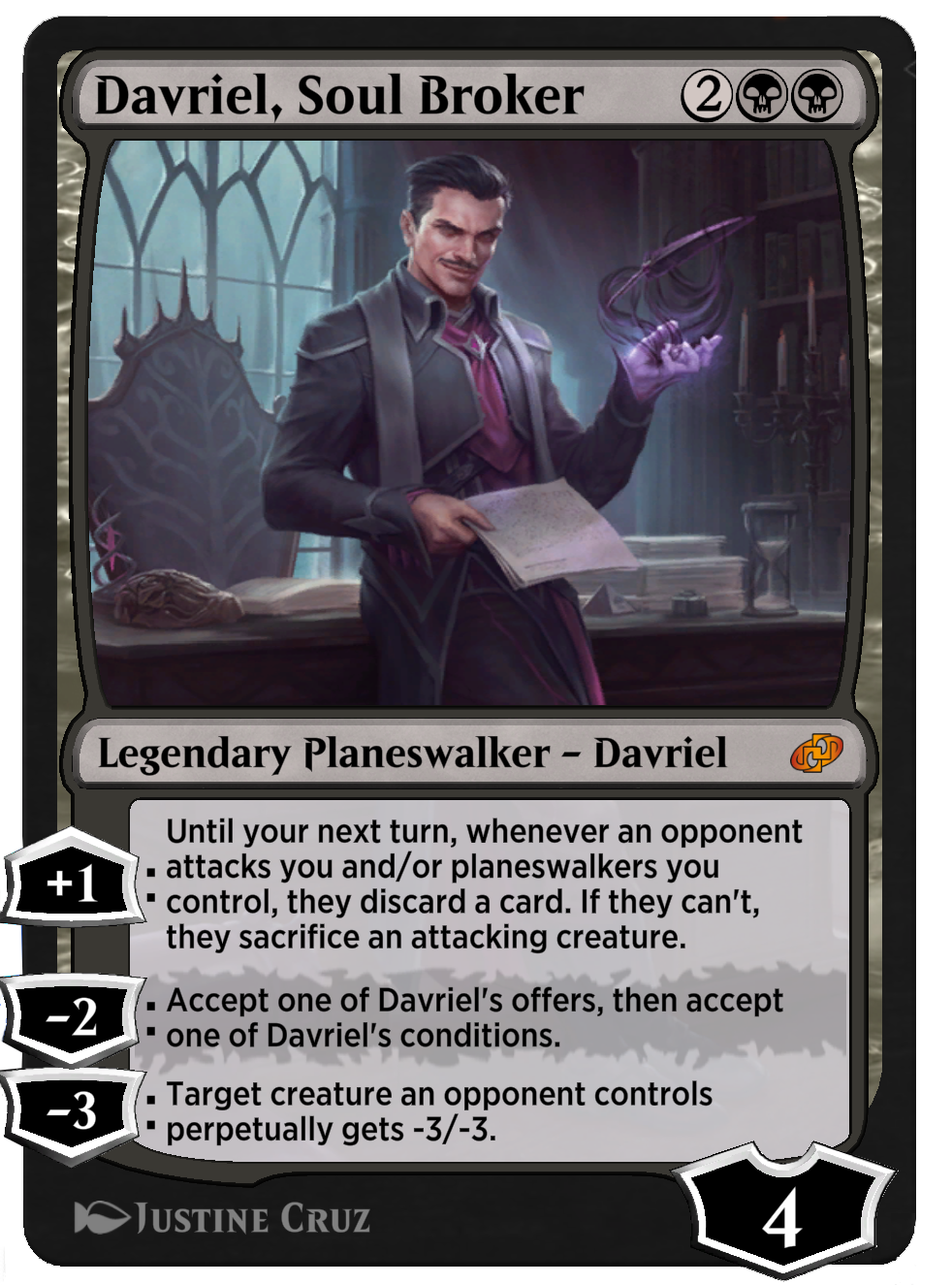 Davriel, Soul Broker new
