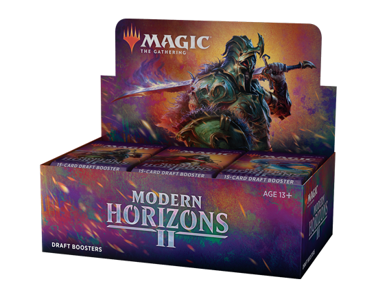 Draft Booster packaging