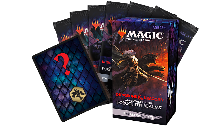 Everything inside the Prerelease pack